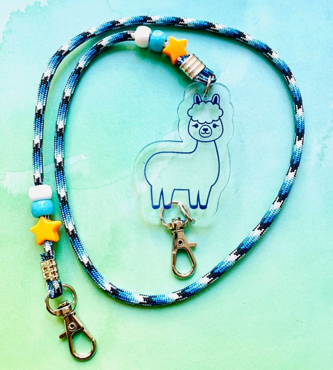 LLama Mask Chain For Kids or Adults