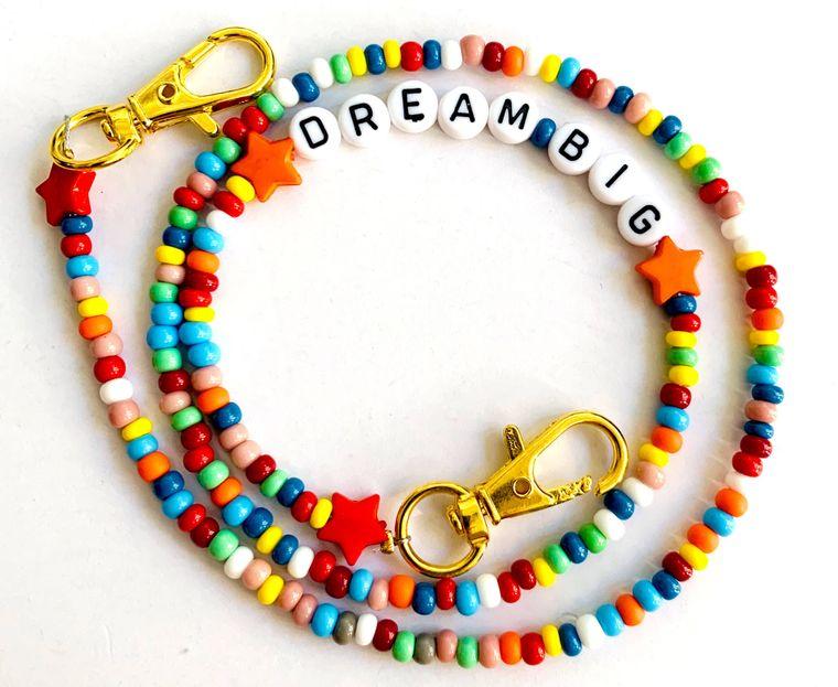 Mask Mate Chain Kids or Adults Dream Big