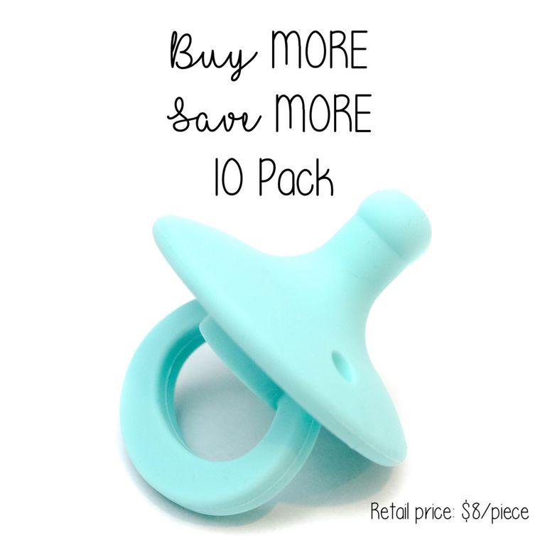 OLI pacifier : 10 Pack Bahama