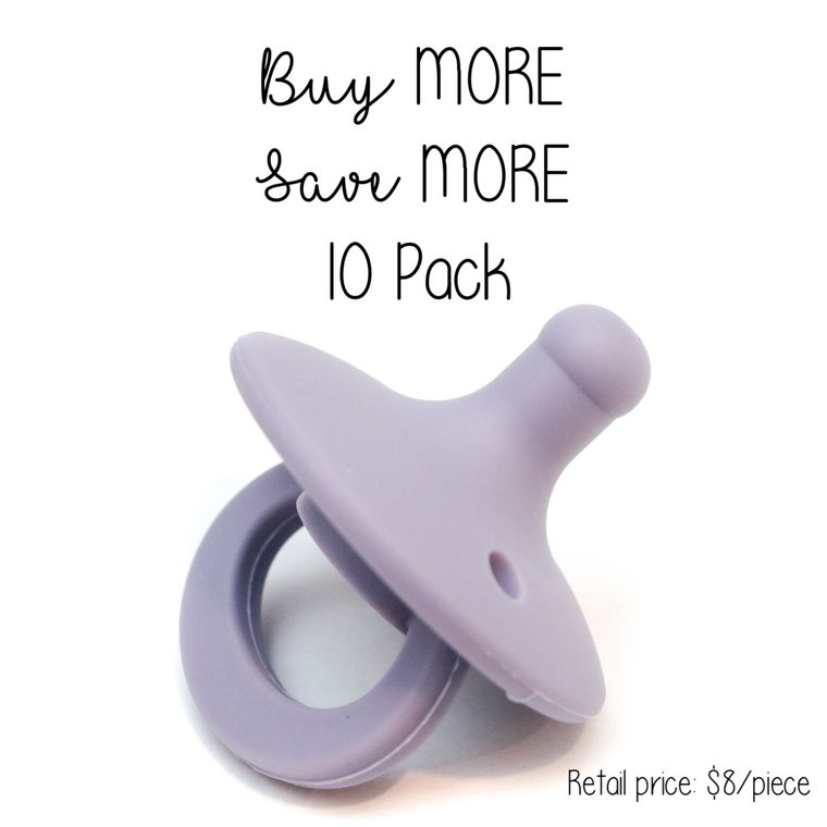OLI pacifier : 10 Pack Orchid