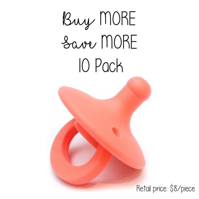 OLI pacifier : 10 Pack Sherbet