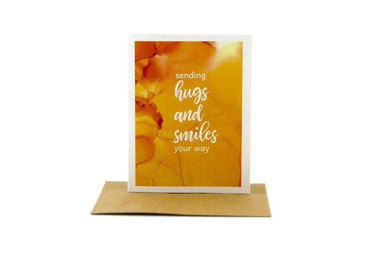 empathy card | sending hugs and smiles your way