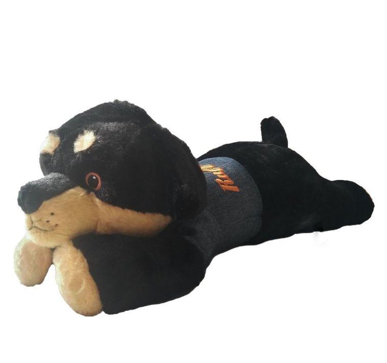 PIPER the Rottie Long Body Pillow w/Ruff-Life Shirt