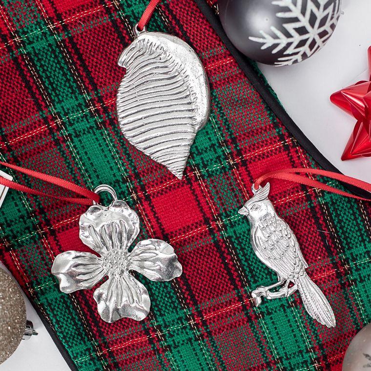 Minimum Order Set- Handmade North Carolina NC State Symbols Cardinal Dogwood Scotch Bonnet