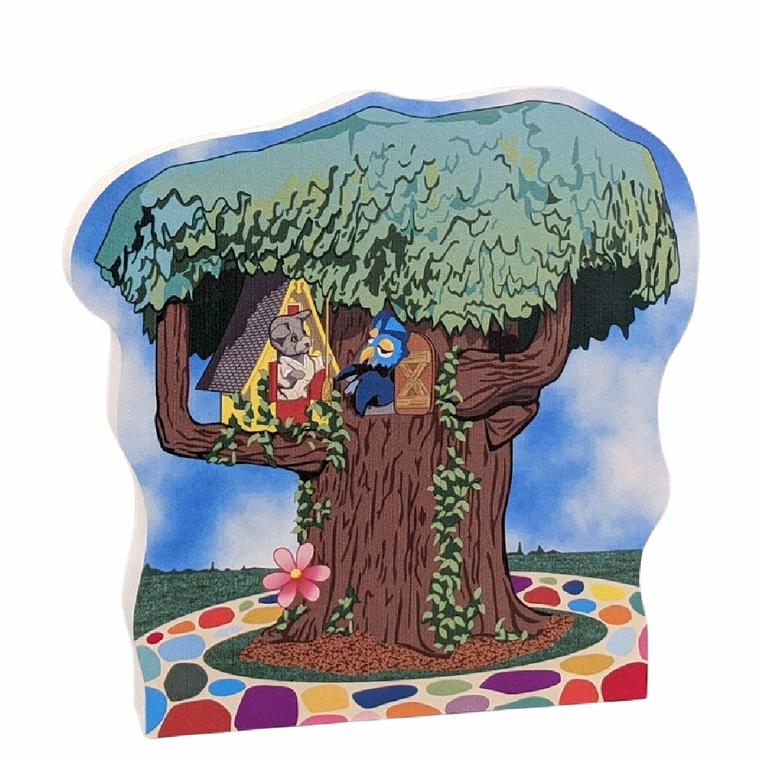 Mister Rogers, X the Owl & Henrietta Pussycat's Tree