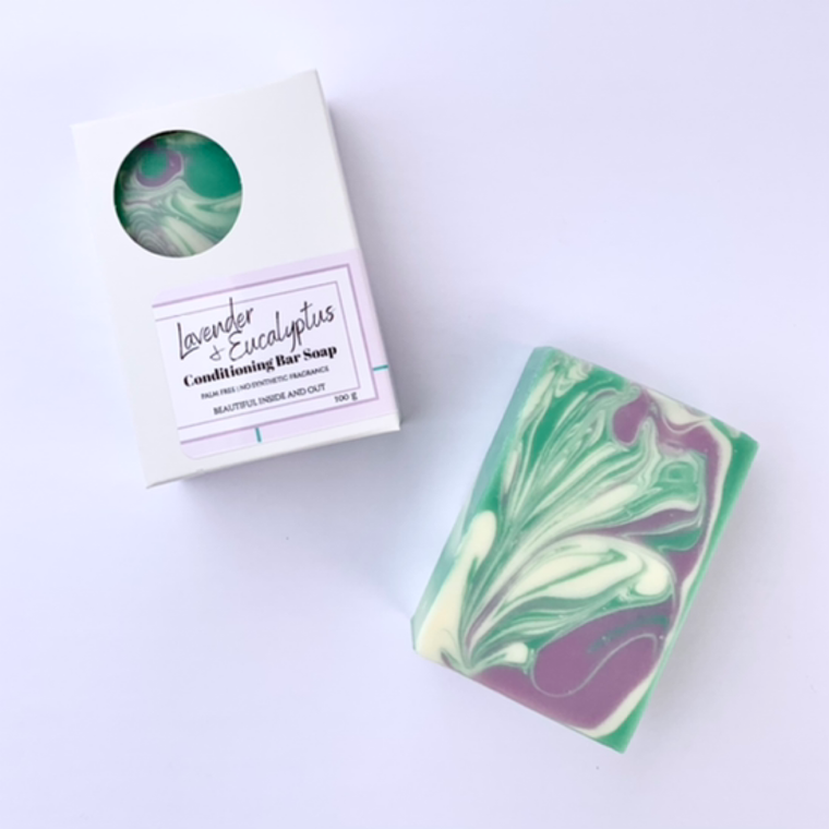 Lavender + Eucalyptus Natural Soap