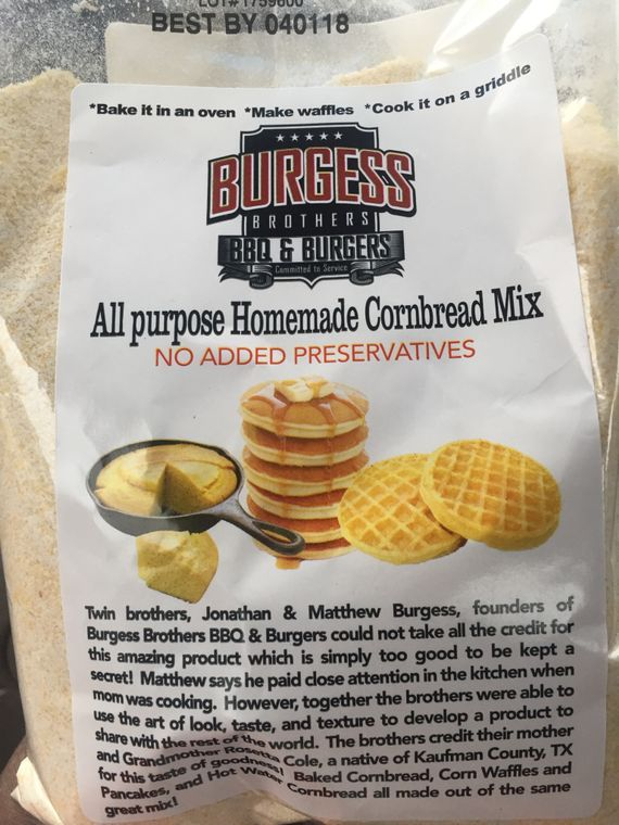 Burgess Brothers Multi Use Cornbread Mix