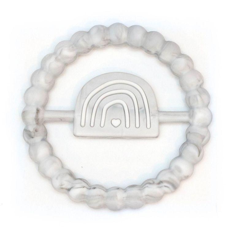 Rainbow Ring Teether : Marble