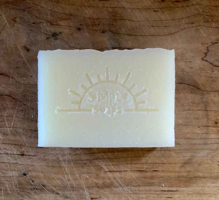 Help on the Way/ plain unscented bar/ eczema or psoriasis