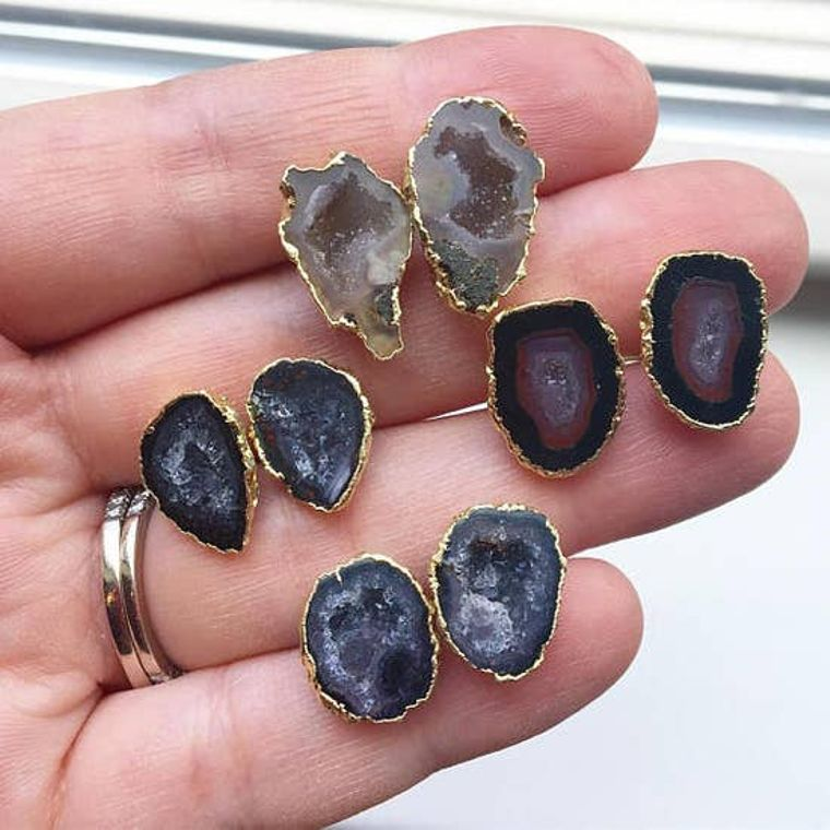 Authentic Geode Earrings