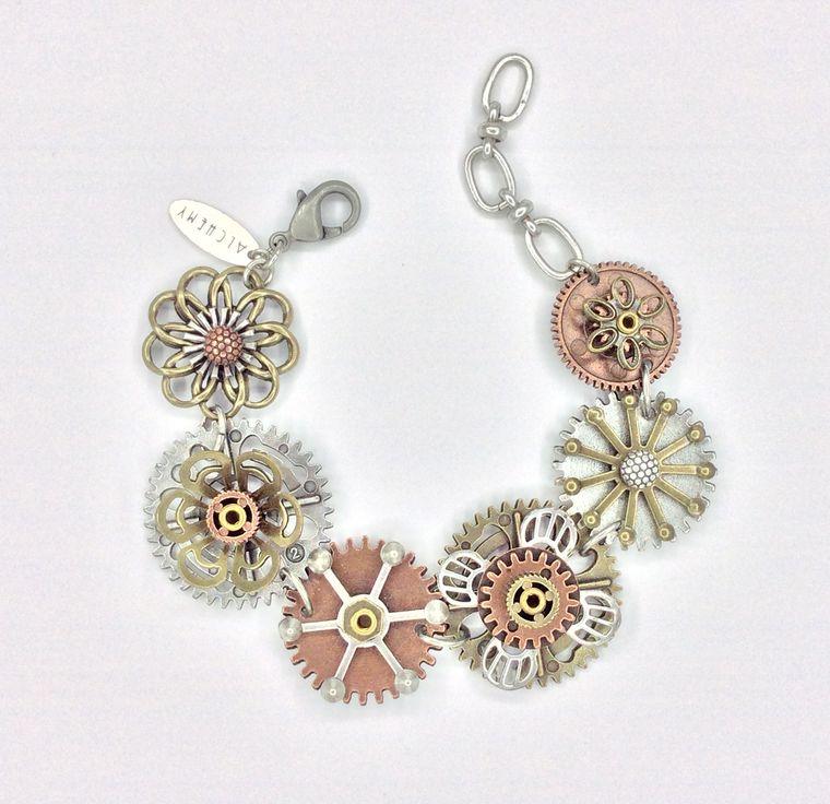 Mechanical Botanical Bracelet - 1577