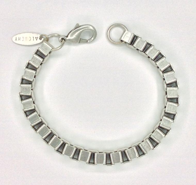 Chunky Box Ch Bracelet - 1588