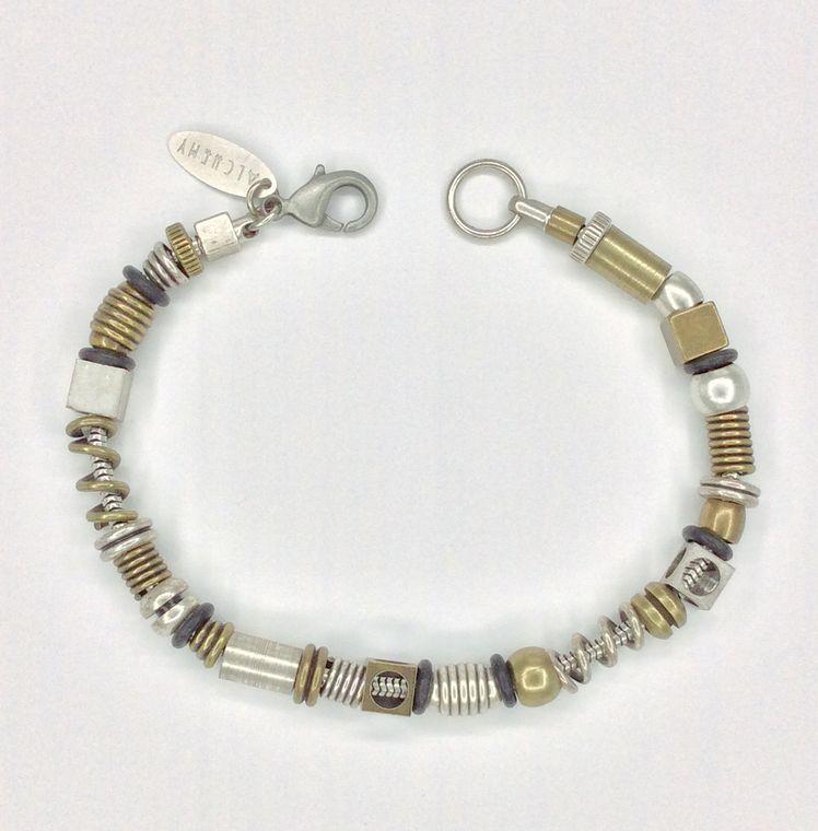 Mixed Multi Bead Bracelet - 1521