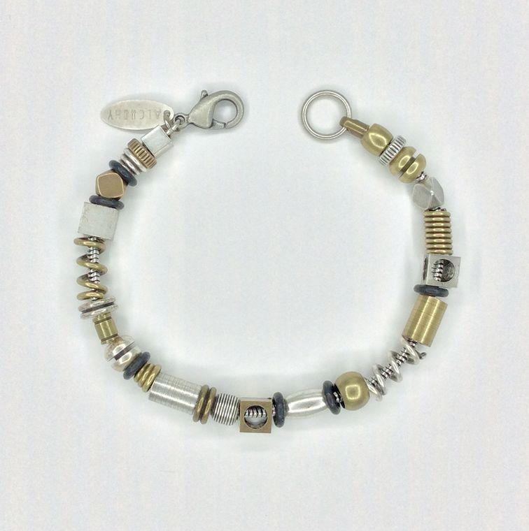 Mixed Multi Bead Bracelet - 1520