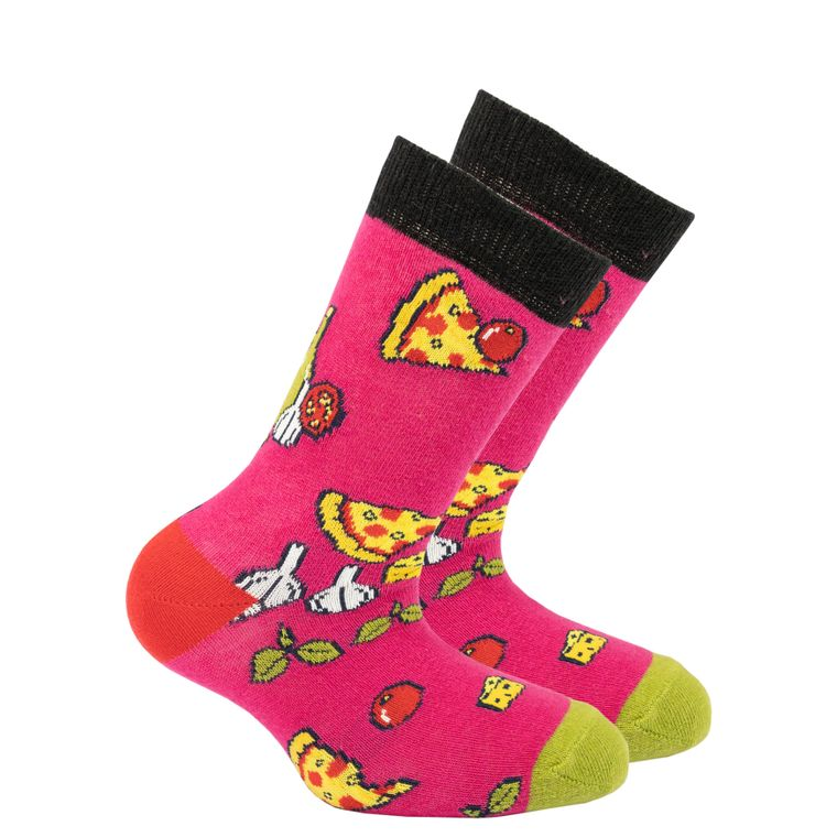 Kids Pizza Chef Socks