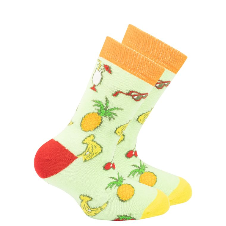 Kids Tropical Socks