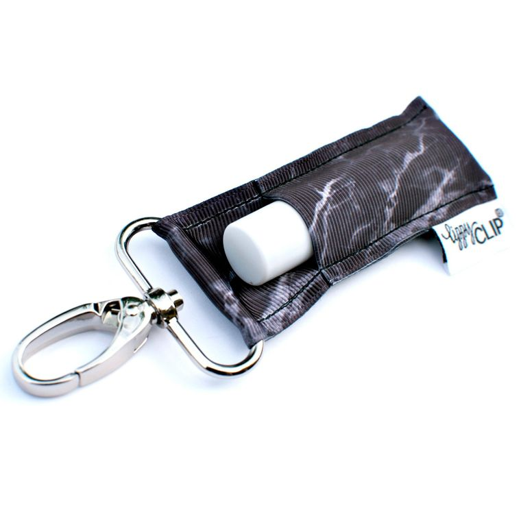 Black Marble LippyClip Lip Balm Holder