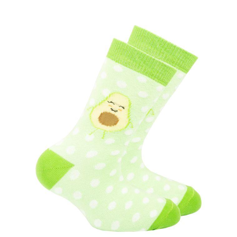 Kids Avocado Dot Socks