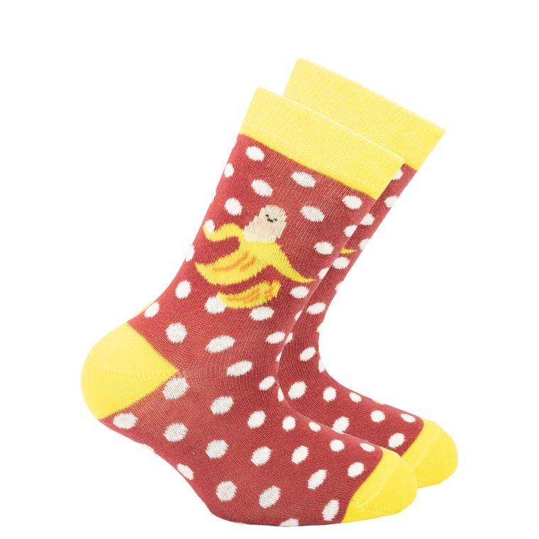 Kids Banana Dot Socks