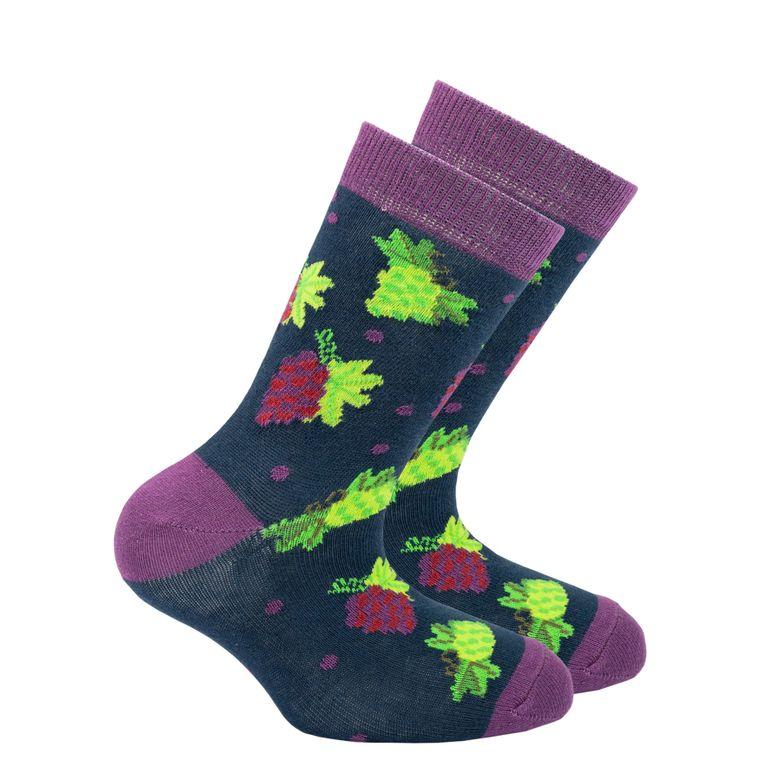 Kids Grape Socks