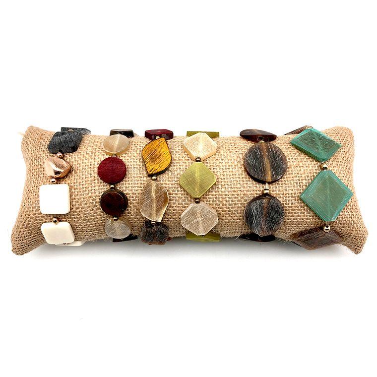 Omala Prepack: 6 Stretch Bracelets