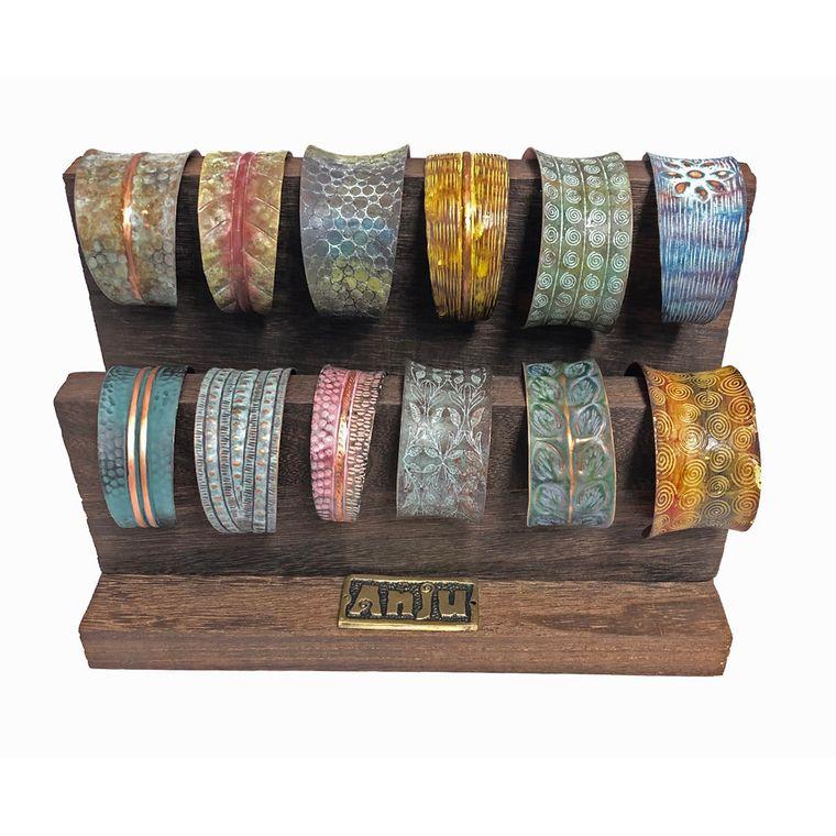Copper Patina Prepack: Bracelets with Display