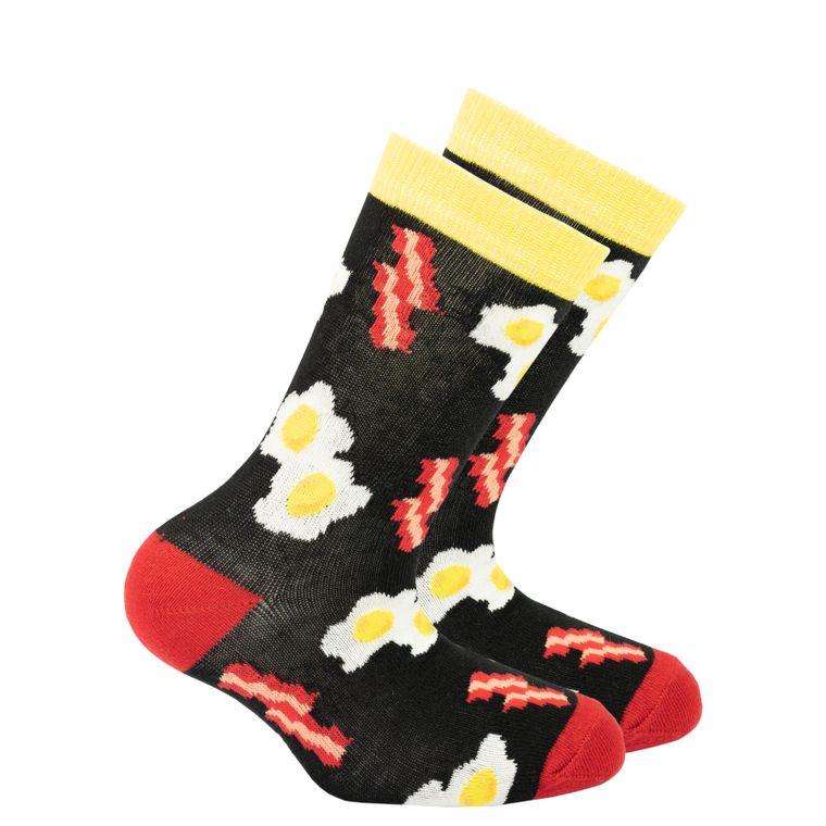 Kids Bacon & Eggs Socks