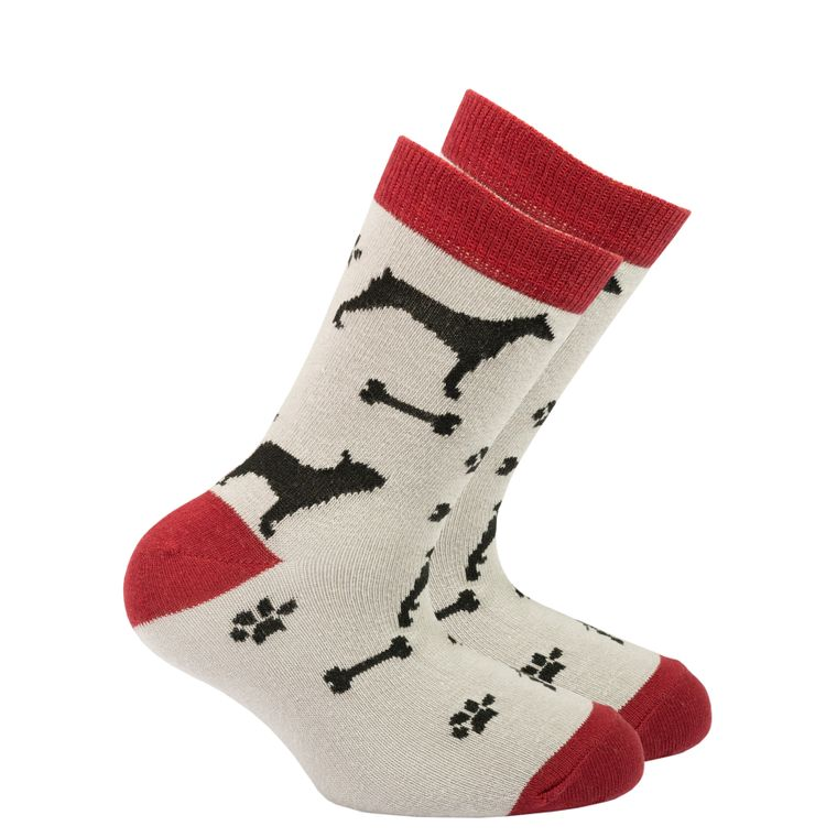 Kids Shadow Dog  Socks