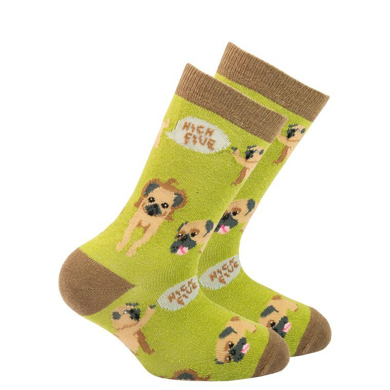 Kids Pug Socks