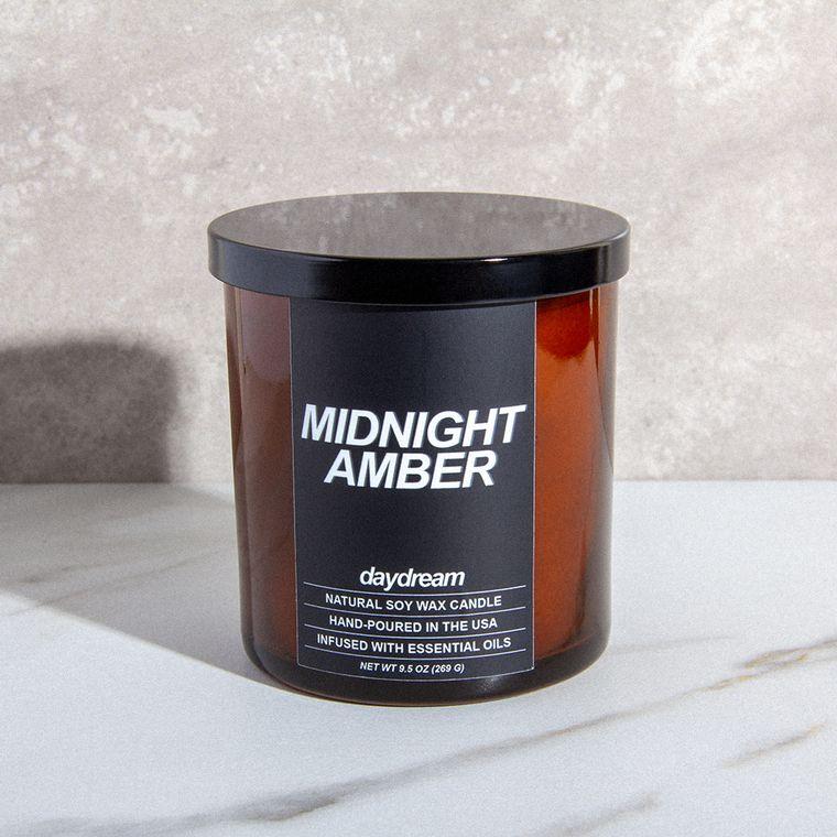 Midnight Amber | Soy Jar Candle | Vegan, Cruelty-Free, Eco-Friendly