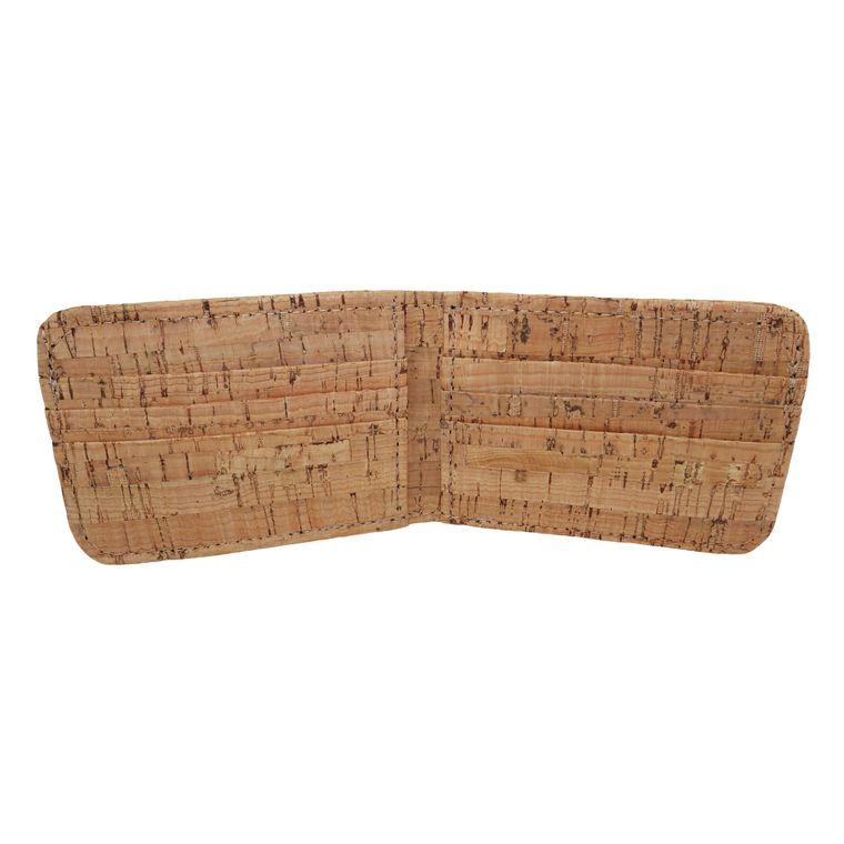 Men's Vegan Cork Bi-fold / Billfold Wallet