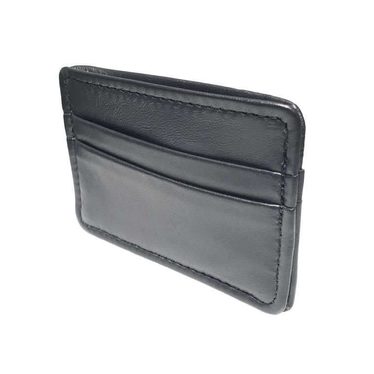 Men's / Women's Lambskin Leather Card Holder Wallet