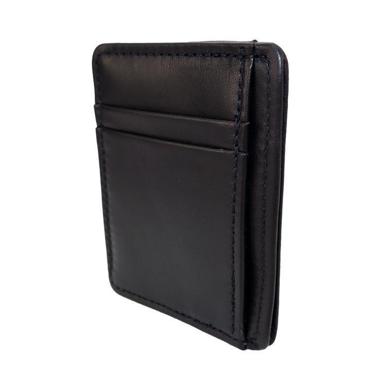 Men's / Women's Lambskin Leather Front Pocket Card & Cash Wallet