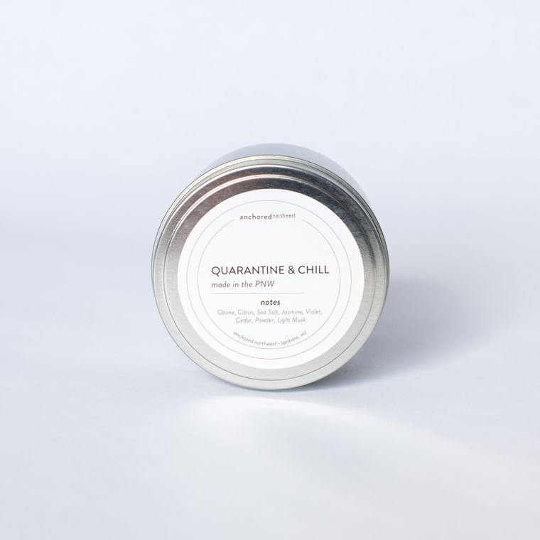 Quarantine & Chill - Travel Tin Soy Candle