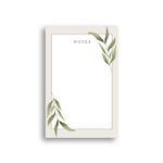 Simple Leaf Notepad