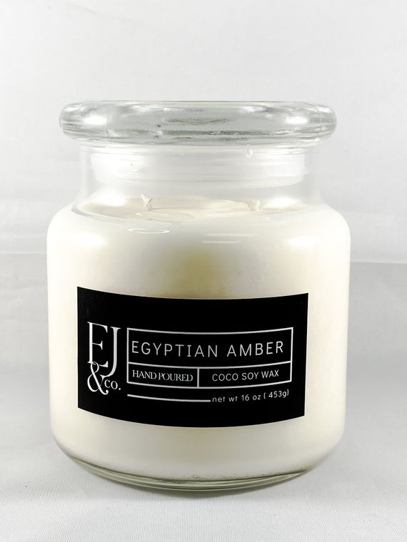 Egyptian Amber [16 oz soy/coconut wax candle]