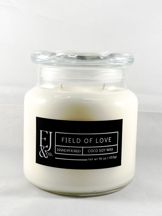 Field of Love [16 oz soy/coconut wax candle]