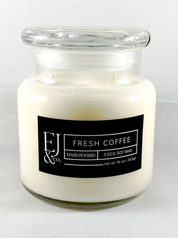 Fresh Coffee [16 oz soy/coconut wax candle]