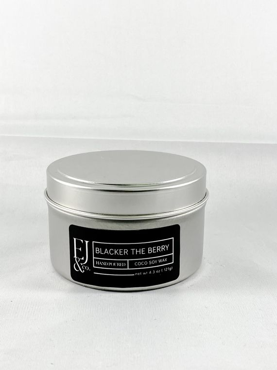 Blacker The Berry  [4.3 oz soy/coconut wax candle]