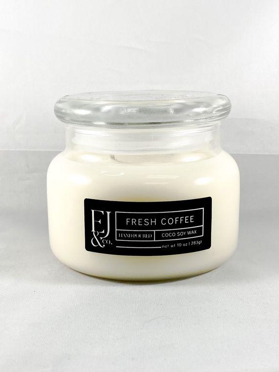 Fresh Coffee [10 oz soy/coconut wax candle]