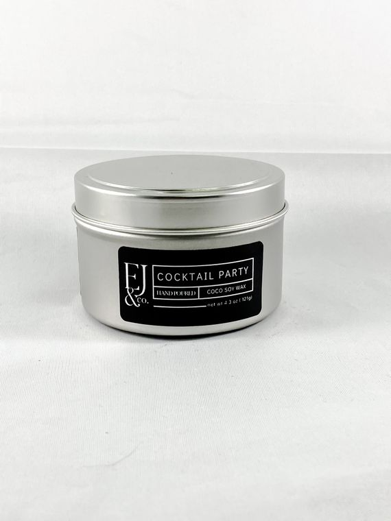 Cocktail Party [4.3 oz soy/coconut wax candle]