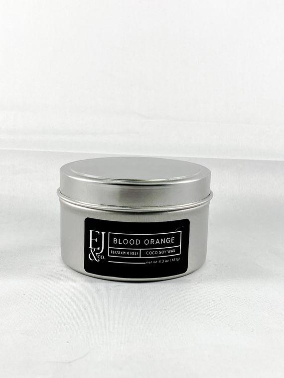 Blood Orange [4.3 oz soy/coconut wax candle]