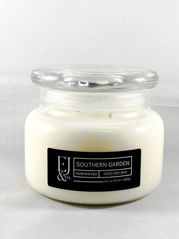 Southern Garden [10 oz soy/coconut wax candle]