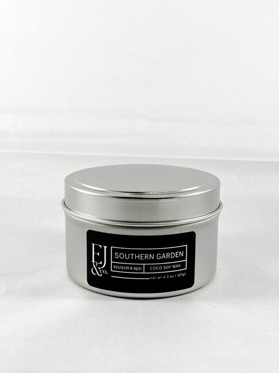 Southern Garden [4.3 oz soy/coconut wax candle]