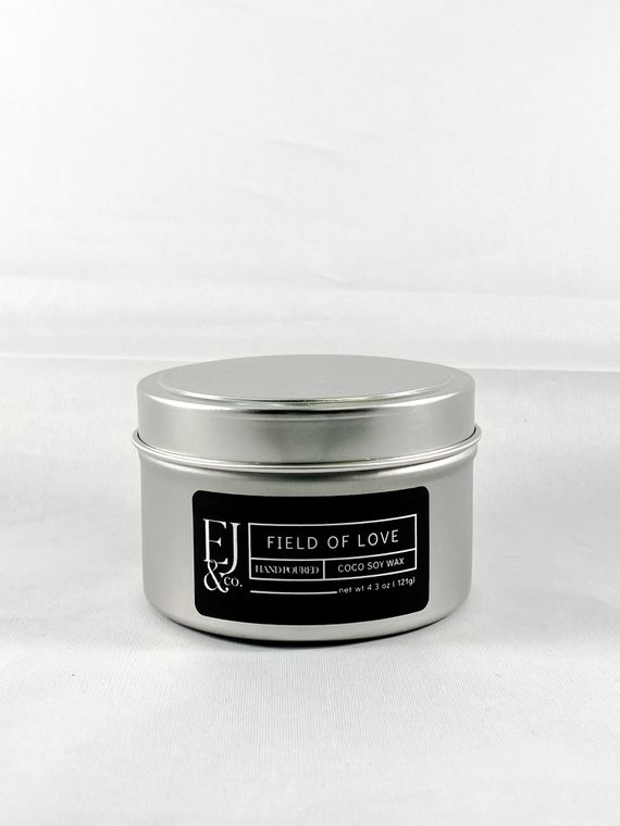 Field of Love [4.3 oz soy/coconut wax candle]
