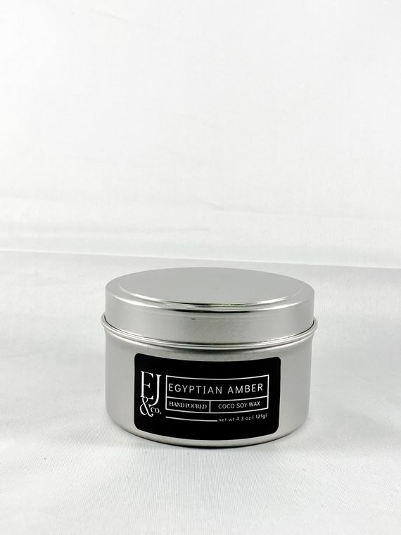 Egyptian Amber [4.3 oz soy/coconut wax candle]