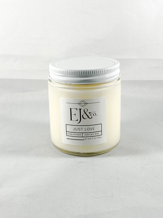 Just Love [3.5 oz soy/coconut wax candle]