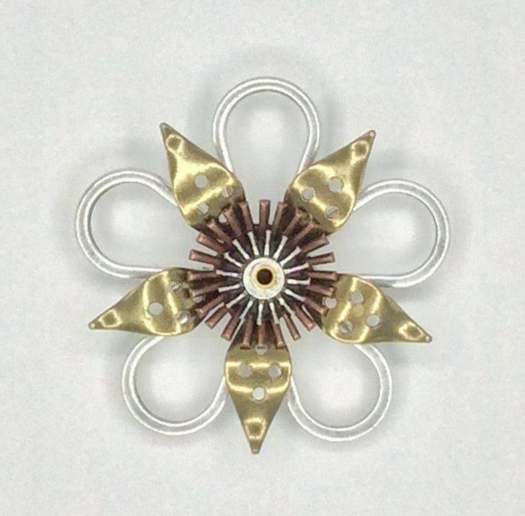 Mechanical Botanical Pin - 2152