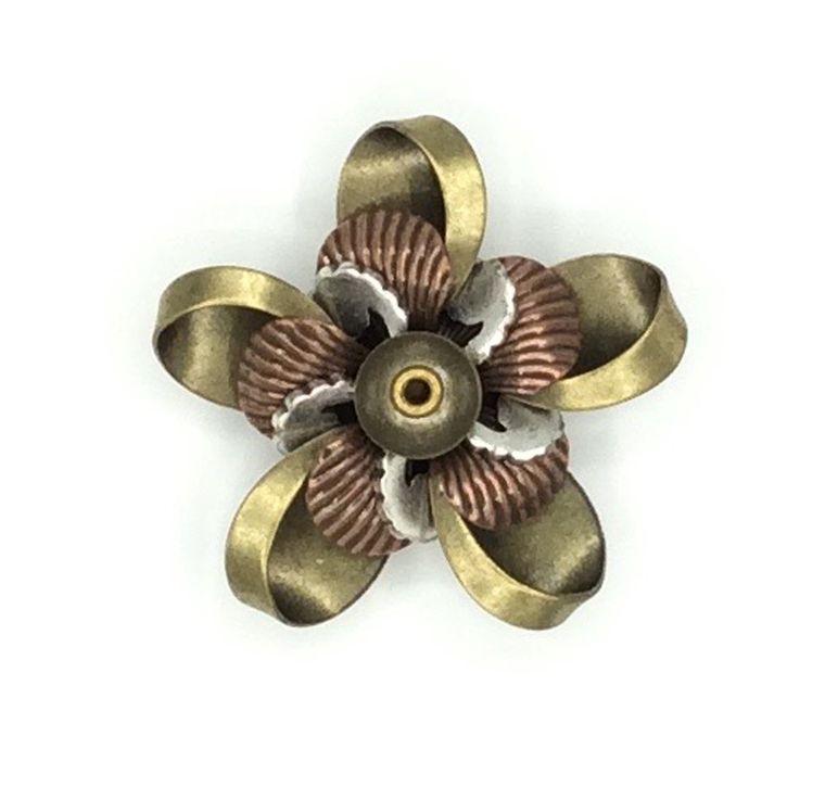 Mechanical Botanical Pin - 2126