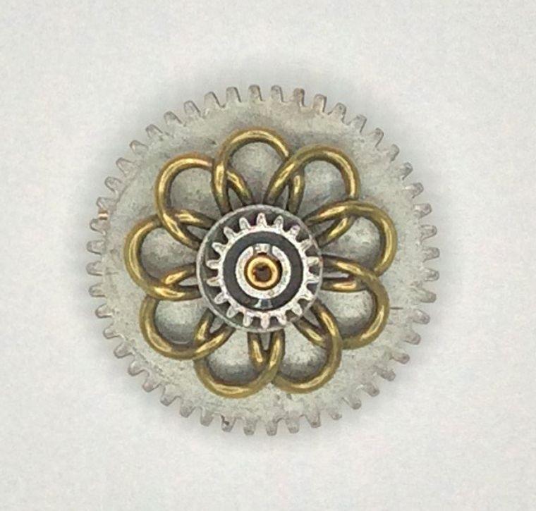 Mechanical Botanical Pin - 2112
